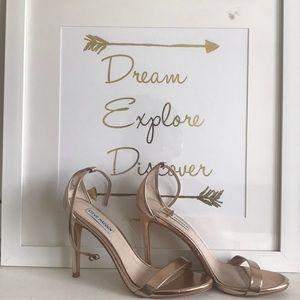 Rose Gold Stecy Heels - Steve Madden